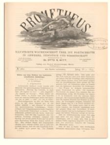 Prometheus : Illustrirte Wochenschrift über die Fortschritte in Gewerbe, Industrie und Wissenschaft. 6. Jahrgang, 1895, Nr 282