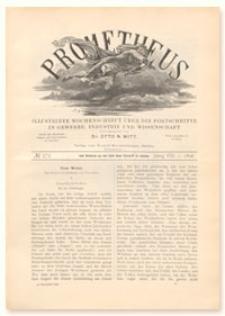Prometheus : Illustrirte Wochenschrift über die Fortschritte in Gewerbe, Industrie und Wissenschaft. 8. Jahrgang, 1896, Nr 375