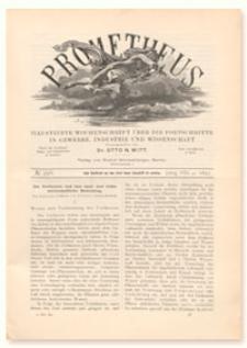 Prometheus : Illustrirte Wochenschrift über die Fortschritte in Gewerbe, Industrie und Wissenschaft. 8. Jahrgang, 1897, Nr 396