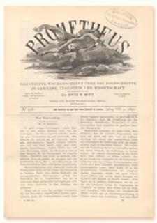Prometheus : Illustrirte Wochenschrift über die Fortschritte in Gewerbe, Industrie und Wissenschaft. 8. Jahrgang, 1897, Nr 398