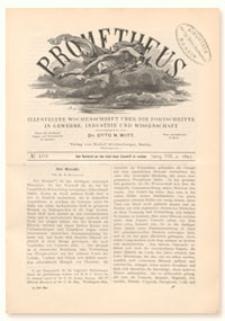 Prometheus : Illustrirte Wochenschrift über die Fortschritte in Gewerbe, Industrie und Wissenschaft. 8. Jahrgang, 1897, Nr 402