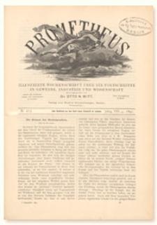 Prometheus : Illustrirte Wochenschrift über die Fortschritte in Gewerbe, Industrie und Wissenschaft. 8. Jahrgang, 1897, Nr 413