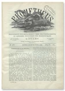 Prometheus : Illustrirte Wochenschrift über die Fortschritte in Gewerbe, Industrie und Wissenschaft. 9. Jahrgang, 1897, Nr 418