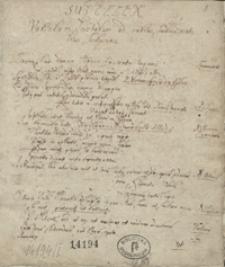 Adversaria [Przykłady retoryczne oraz miscellanea z końca XVII i początku 18 w.]