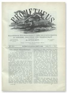 Prometheus : Illustrirte Wochenschrift über die Fortschritte in Gewerbe, Industrie und Wissenschaft. 9. Jahrgang, 1898, Nr 430