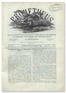 Prometheus : Illustrirte Wochenschrift über die Fortschritte in Gewerbe, Industrie und Wissenschaft. 9. Jahrgang, 1898, Nr 433