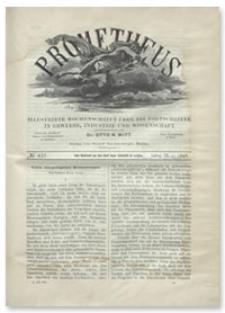 Prometheus : Illustrirte Wochenschrift über die Fortschritte in Gewerbe, Industrie und Wissenschaft. 9. Jahrgang, 1898, Nr 457