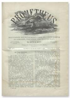 Prometheus : Illustrirte Wochenschrift über die Fortschritte in Gewerbe, Industrie und Wissenschaft. 9. Jahrgang, 1898, Nr 461