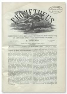 Prometheus : Illustrirte Wochenschrift über die Fortschritte in Gewerbe, Industrie und Wissenschaft. 10. Jahrgang, 1899, Nr 483