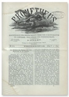 Prometheus : Illustrirte Wochenschrift über die Fortschritte in Gewerbe, Industrie und Wissenschaft. 10. Jahrgang, 1899, Nr 503
