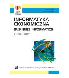 Spis treści [Informatyka Ekonomiczna = Business Informatics, 2020, Nr 2 (56)]