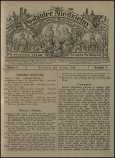 Posłaniec Niedzielny dla Dyecezyi Wrocławskiej. R. 5, 1899, nr 8