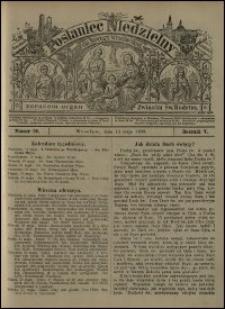 Posłaniec Niedzielny dla Dyecezyi Wrocławskiej. R. 5, 1899, nr 20