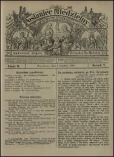 Posłaniec Niedzielny dla Dyecezyi Wrocławskiej. R. 5, 1899, nr 36