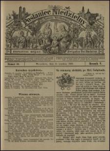 Posłaniec Niedzielny dla Dyecezyi Wrocławskiej. R. 5, 1899, nr 39