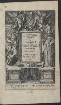 Saxoniae Ducum. Caesarib. Creand. VIIVirum; et caeterorum A Friderico I. Ad Christianum II. Fratres Et Agnatos, Genuinae effig: […]