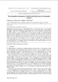 The adsorption mechanism of Al(III) and Fe(III) ions on bastnaesite surfaces