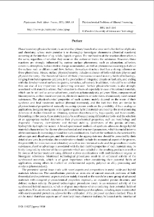 Preface [Physicochemical Problems of Mineral Processing. Vol. 55, 2019, Issue 6]