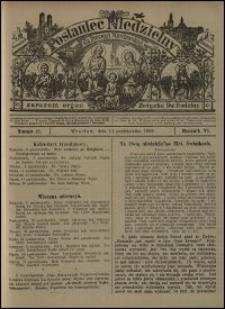 Posłaniec Niedzielny dla Dyecezyi Wrocławskiej. R. 6, 1900, nr 41