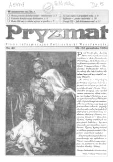 Pryzmat : Pismo Informacyjne Politechniki Wrocławskiej. 16-31 grudnia 1994, nr 41
