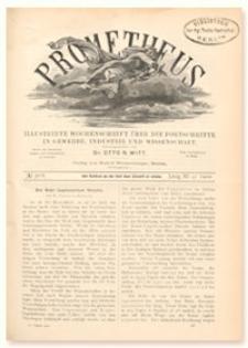 Prometheus : Illustrirte Wochenschrift über die Fortschritte in Gewerbe, Industrie und Wissenschaft. 11. Jahrgang, 1900, nr 568