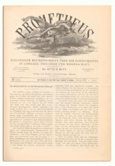 Prometheus : Illustrirte Wochenschrift über die Fortschritte in Gewerbe, Industrie und Wissenschaft. 12. Jahrgang, 1900, Nr 574