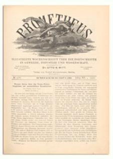 Prometheus : Illustrirte Wochenschrift über die Fortschritte in Gewerbe, Industrie und Wissenschaft. 12. Jahrgang, 1900, Nr 576