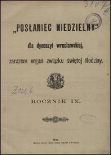 Posłaniec Niedzielny dla Dyecezyi Wrocławskiej. R. 9, 1903, nr 30