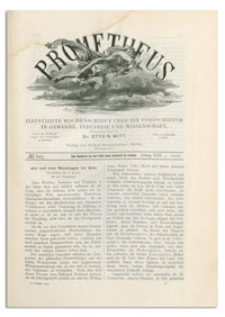 Prometheus : Illustrirte Wochenschrift über die Fortschritte in Gewerbe, Industrie und Wissenschaft. 13. Jahrgang, 1901, Nr 627