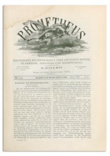 Prometheus : Illustrirte Wochenschrift über die Fortschritte in Gewerbe, Industrie und Wissenschaft. 13. Jahrgang, 1901, Nr 630