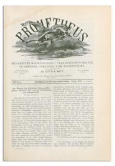 Prometheus : Illustrirte Wochenschrift über die Fortschritte in Gewerbe, Industrie und Wissenschaft. 13. Jahrgang, 1901, Nr 634