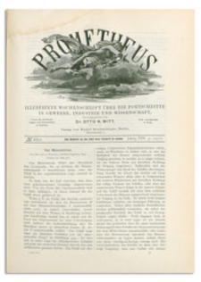 Prometheus : Illustrirte Wochenschrift über die Fortschritte in Gewerbe, Industrie und Wissenschaft. 13. Jahrgang, 1902, Nr 660