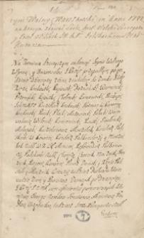 [Diariusz sejmu 1722 roku oraz odpisy mów, akt publicznych, listów i innych materiałów dotyczących spraw politycznych i skarbowych Polski z lat 1715-1733]