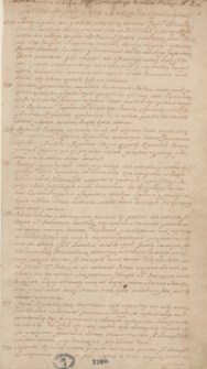 [Miscellanea historyczno-literackie z czasów panowania Augusta III]
