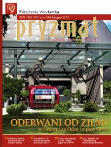 Pryzmat : Pismo Informacyjne Politechniki Wrocławskiej. Listopad 2011, nr 249
