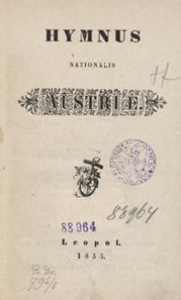 Hymnus nationalis Austriæ