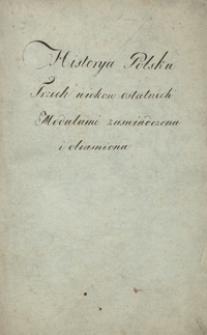 O medalach polskich [od Zygmunta I Starego do Augusta III]