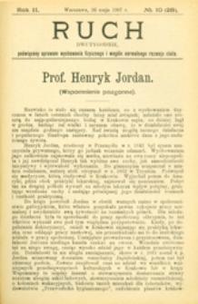 Ruch : dwutygodnik poświęcony sprawom wychowania fizycznego i w ogóle normalnego rozwoju ciała, 1907.05.26 R. 2 nr 10 (28)