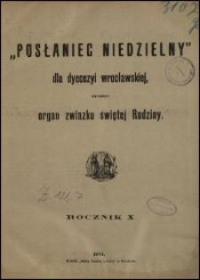 Posłaniec Niedzielny dla Dyecezyi Wrocławskiej. R. 10, 1904, nr 21