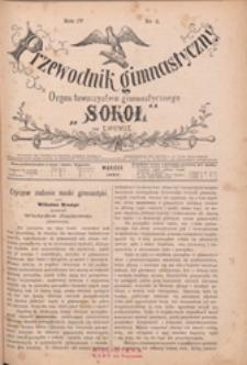 """Przewodnik Gimnastyczny : organ Towarzystwa Gimnastycznego """"Sokół"""" we Lwowie, 1884 R. 4 nr 3"""
