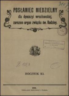 Posłaniec Niedzielny dla Dyecezyi Wrocławskiej. R. 11, 1905, nr 33
