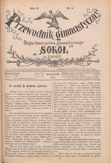 """Przewodnik Gimnastyczny : organ Towarzystwa Gimnastycznego """"Sokół"""" we Lwowie, 1884 R. 4 nr 9"""