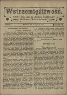 """Wstrzemięźliwość : dodatek miesięczny do """"Posłańca Niedzielnego"""" dla Bractwa Wstrzemięźliwości. R. 7 (1906), nr 12"""