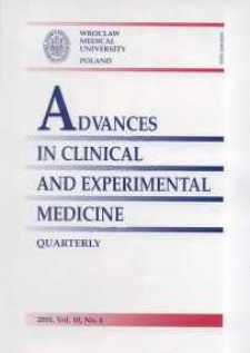 Advances in Clinical and Experimental Medicine, Vol. 10, 2001, nr 4