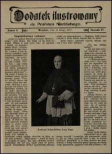 Dodatek Ilustrowany do Posłańca Niedzielnego. R. 4 (1907), nr 2