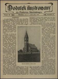 Dodatek Ilustrowany do Posłańca Niedzielnego. R. 4 (1907), nr 10