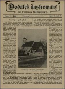 Dodatek Ilustrowany do Posłańca Niedzielnego. R. 5 (1908), nr 9