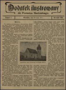 Dodatek Ilustrowany do Posłańca Niedzielnego. R. 8 (1911), nr 7