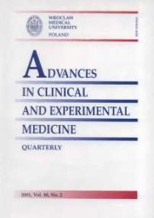 Advances in Clinical and Experimental Medicine, Vol. 10, 2001, nr 2