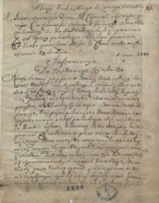 Abrys niebieskiego dziwnego światła [meteoru, zaobserwowanego w Gdańsku w 1716 roku]